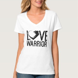 Love Warrior V-Neck T-Shirt