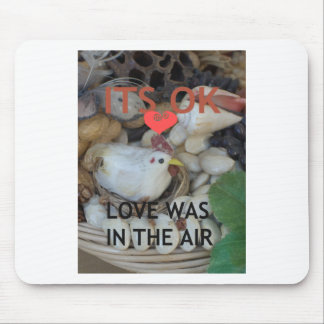Love was in the Air Mouse Pad