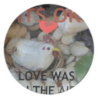Love was in the Air Dinner Plate