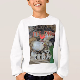 Love was in the Air Sweatshirt