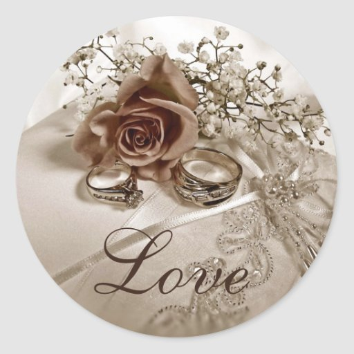 Love Wedding Stickers