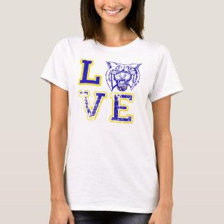 Love Wildcat Football Sports Tank