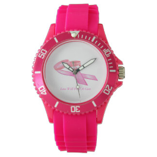Love Will Find A a Cure Sporty Watch