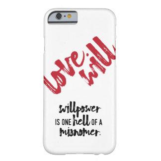 Love Will - Willpower case