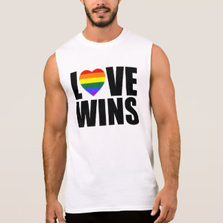 LOVE WINS! CELEBRATE MARRIAGE EQUALITY! #LOVEWINS SLEEVELESS SHIRT
