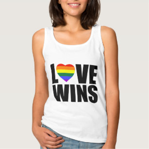 LOVE WINS! CELEBRATE MARRIAGE EQUALITY! SINGLET