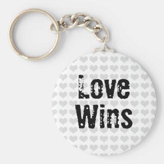 Love Wins Key Ring