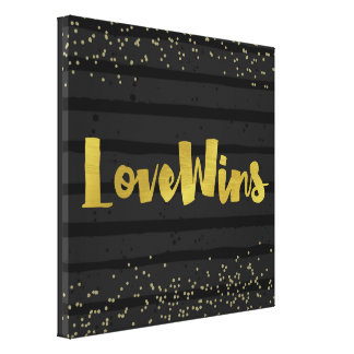 Love Wins LGBT Pride Canvas Print