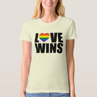 LOVE WINS! #LOVEWINS CELEBRATE MARRIAGE EQUALITY! T-Shirt