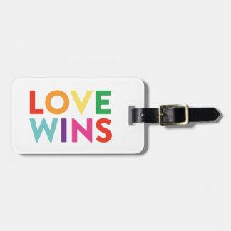 Love Wins | Luggage Tag