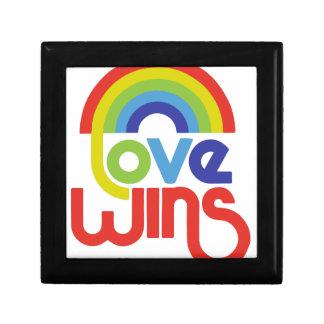 Love Wins Small Square Gift Box