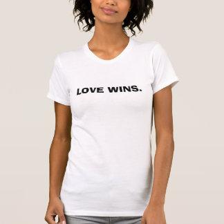 LOVE WINS. T-Shirt