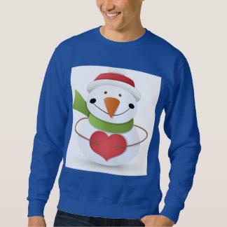 Love Winter Snowman Shirt