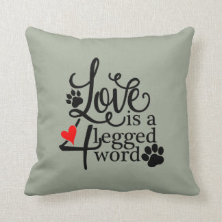Love With 4 Legs Cushion