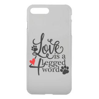 Love With 4 Legs iPhone 8 Plus/7 Plus Case
