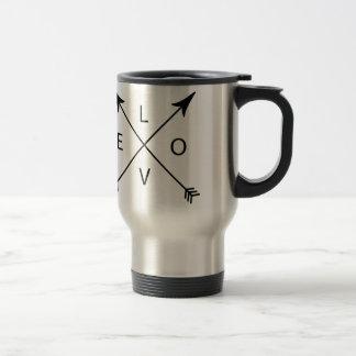 Love with Arrows Travel Mug