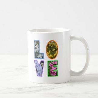 Love with Flowers Coffee Mug