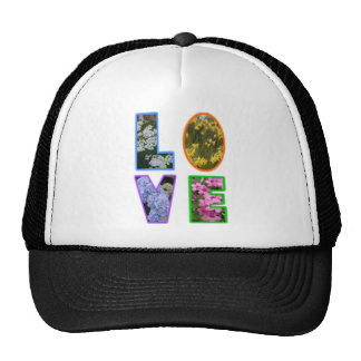 Love with Flowers Trucker Hats