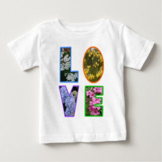 Love with Flowers Tshirt