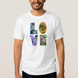 Love with Flowers Tshirts