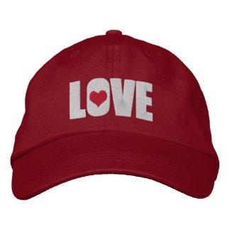 Love With Heart Detail Baseball Cap