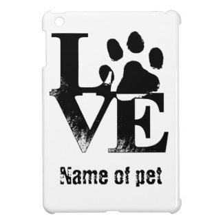 LOVE With Paw Cover For The iPad Mini