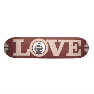 LOVE with YOUR PHOTO custom skateboard