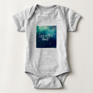 Love without Limits Baby Bodysuit
