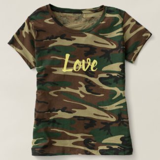 Love-Women's Camouflage T-Shirt