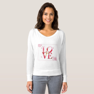 Love women's long sleeve shirt
