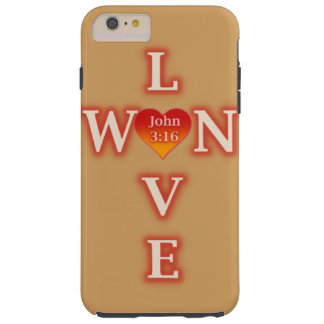 Love Won iPhone Case