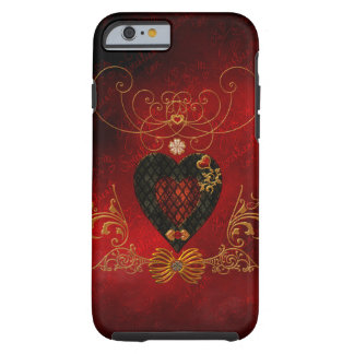Love, wonderful hearts tough iPhone 6 case