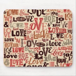 Love Words Mouse pad