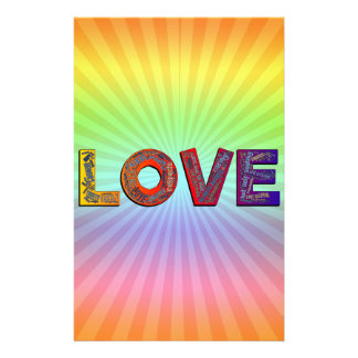 LOVE WORDS STATIONERY