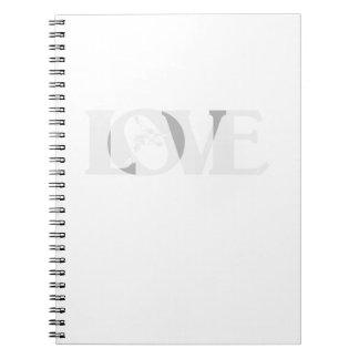 Love Wrestle Wrestling Notebooks