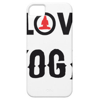 LOVE YOGA BARELY THERE iPhone 5 CASE