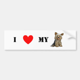 Love Yorkies Sticker