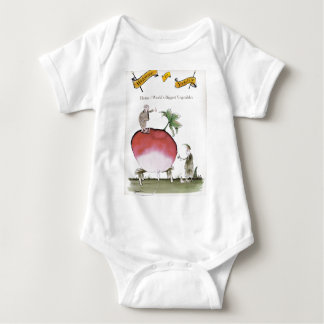Love Yorkshire big radish Baby Bodysuit