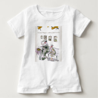love yorkshire borrowing whippets teeth baby bodysuit