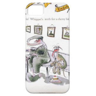 love yorkshire borrowing whippets teeth case for the iPhone 5