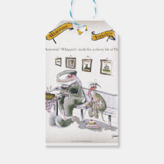 love yorkshire borrowing whippets teeth gift tags