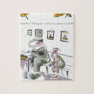 love yorkshire borrowing whippets teeth jigsaw puzzle