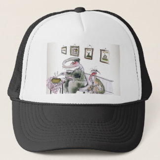 love yorkshire borrowing whippets teeth trucker hat