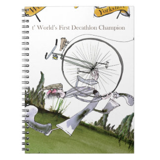 love yorkshire decathlons notebook