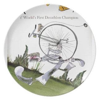 love yorkshire decathlons plate