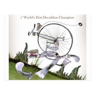 love yorkshire decathlons postcard