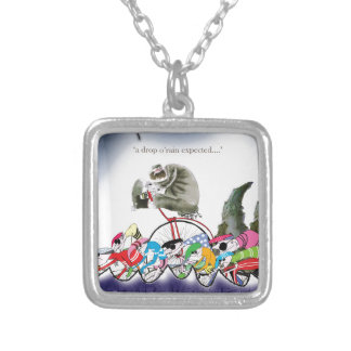 love yorkshire drop o'rain silver plated necklace