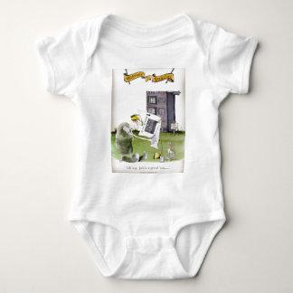 love yorkshire 'ey up, jobs a good 'un' baby bodysuit