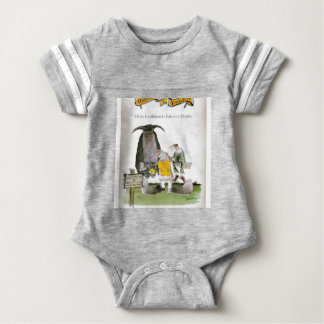 love yorkshire falconry display baby bodysuit
