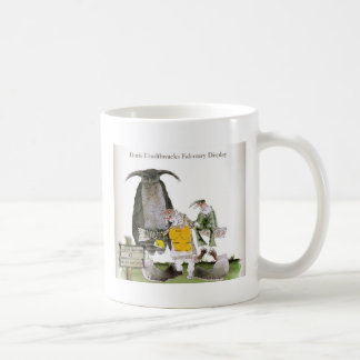 love yorkshire falconry display coffee mug